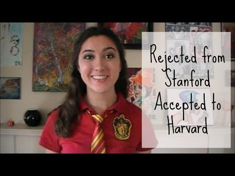 Rejected from Stanford, Accepted to Harvard