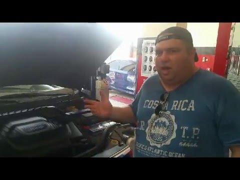 CAR A/C SYSTEM  leak detect