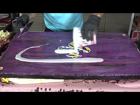 Sports MANCAVE Table 3 (Pouring Epoxy)