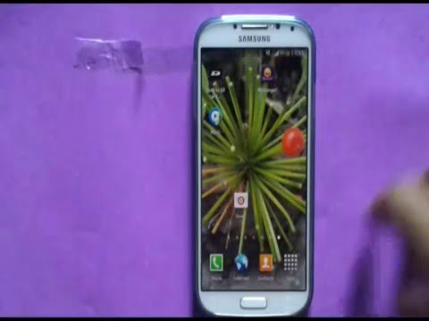 How to Move Home Screen Apps on Samsung Galaxy S4