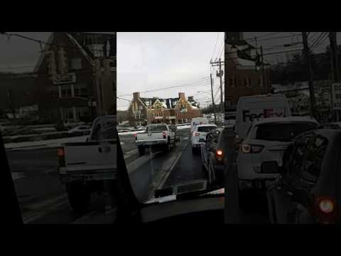 Danbury Ct engine 23, truck 1, and squad 1 responding in traffic..