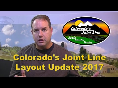 Colorado's Joint Line layout update - Jan 2017