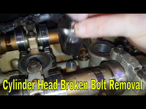 How to remove broken bolt ford mondeo mk3 Project ST220