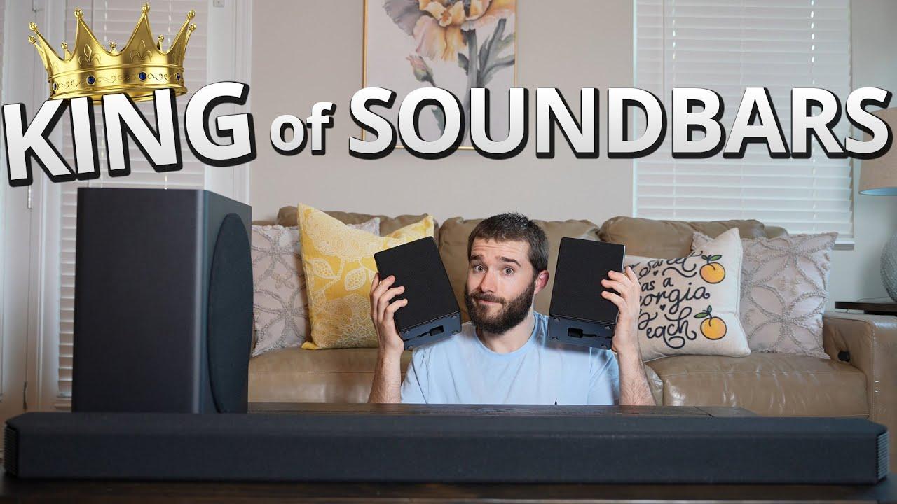 Samsung Q950A Soundbar Review - King of Soundbars!