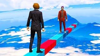1 vs. 1 FIGHT 1000 MILES IN THE SKY! (GTA 5 Funny Moments)