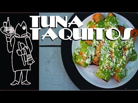 Catch And Cook Tuna 🇲🇽 Recipe - Fish Taquitos & Fresh And Easy Homemade Guacamole Recipe