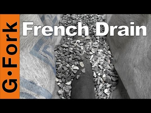 How To Put In A French Drain - GardenFork