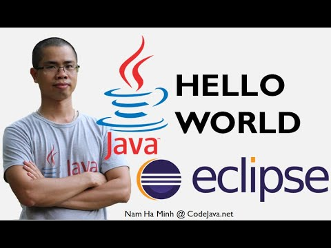 How to Write a Java Hello World Program with Eclipse IDE