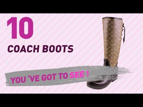 Coach Boots // New & Popular 2017
