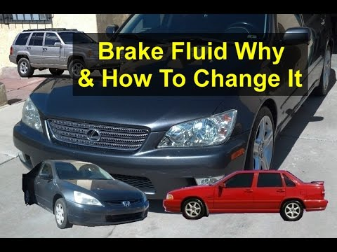 Brake fluid maintenance. Why you need to replace the fluid and how to do it. - VOTD
