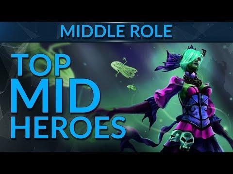 Pro's TOP MIDLANE Heroes | Dota 2 Guide