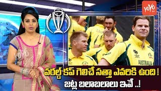 ICC Cricket World Cup 2019 : World Cup Teams Strengths and Weaknesses   INDIA, England    YOYO TV