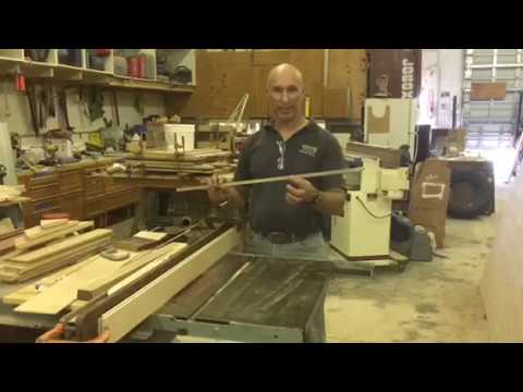 How to Cut Aluminum with Your Table Saw | Lenny Hall