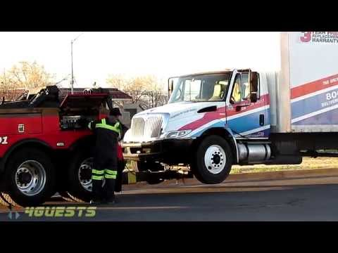 AAA Club Roadside Assistance Truck towed away