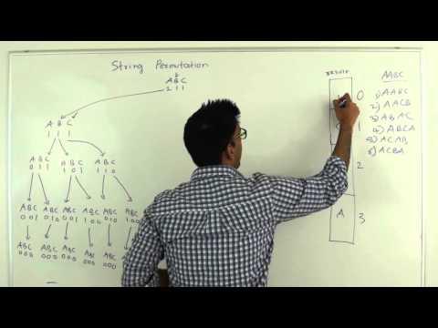 String Permutation Algorithm
