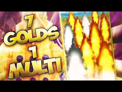 ** OMG 7 GOLDS IN 1 MULTI IT ACTUALLY HAPPENED * | ** Naruto Ultimate Ninja Blazing *