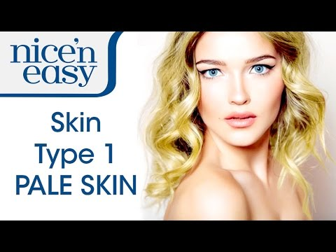 Best Hair Colour for Pale Skin Tones: Hair Colour Swatches | Nice 'n Easy