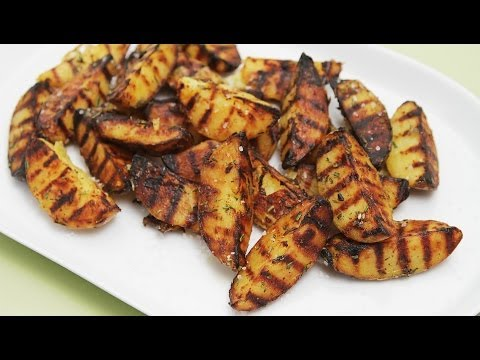 Grilled Potatoes with Rosemary – Marinated Twice for Maximum Flavor