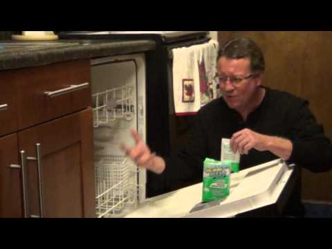 Easy Way to Clean a Dishwasher