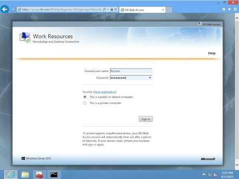 What's New in Windows Server 2012, Episode 20: RDS - Remote Desktop Services & RemoteApp