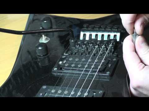 Floyd Rose String Height // How to