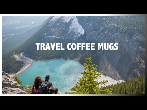 Travel Coffee Mugs - Double Wall Tumbler with Straw