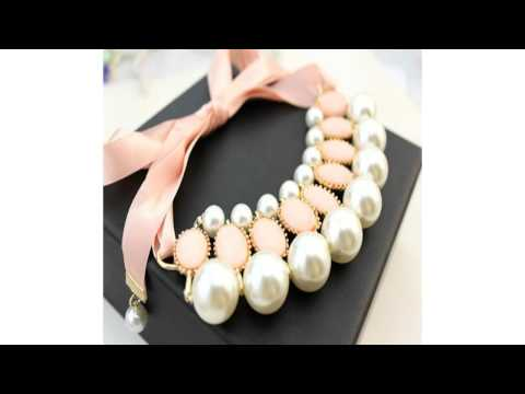Pearl Earrings, Pearl Bib Necklace -  The Jewelry Store