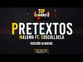 Pretextos - Maluma FT. Cosculluela l Karaoke l @TopKaraokes 🎙