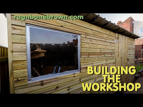 Building The Workshop Shed (part 3 of 3)