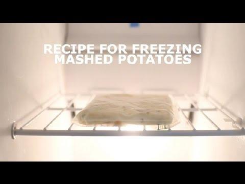 Recipe for Freezing Mashed Potatoes : Potatoes