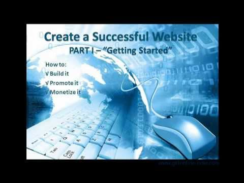 Start Your Online Business - Create a Successful Website Part 1 a