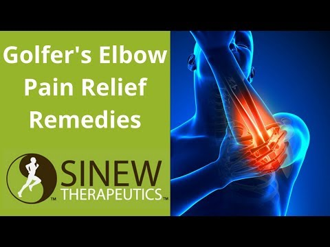 Golfer's Elbow Pain Relief Remedies