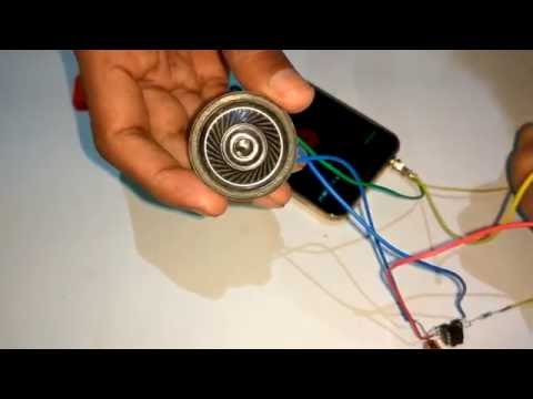 How to make a mini amplifier