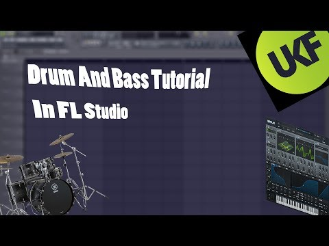 Drum And Bass Tutorial in Fl Studio [Drum and Bass ] [Dubstep, DnB] Serum
