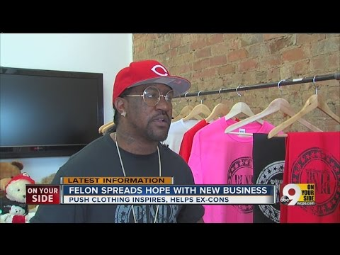 Felon spreads hope with new business