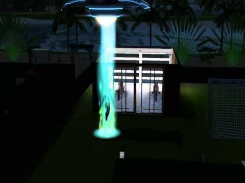 The Sims 3 Seasons-Sasuke Uchiha get abducted by aliens!!