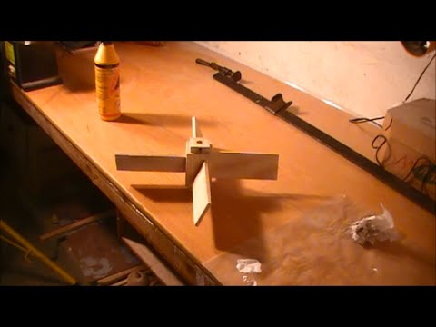 Making a wooden propeller