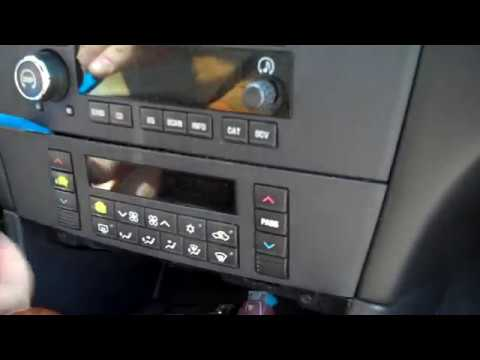 Buick LaCrosse Stereo Removal