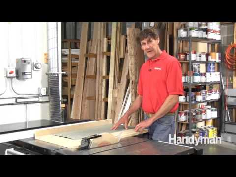 Ripping Veneer on a Table Saw