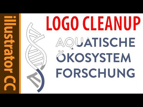 Illustrator CC logo cleanup and design adjustments! tutorial 2015