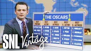 Weekend Update: Bill Murray's 1981 Oscar Predictions - SNL