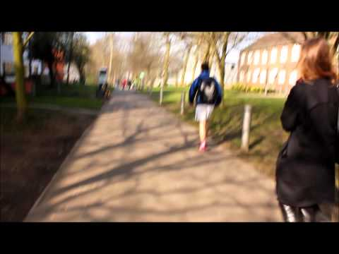 Sport Relief 2012 - Charity Bed Shoes Public Walk