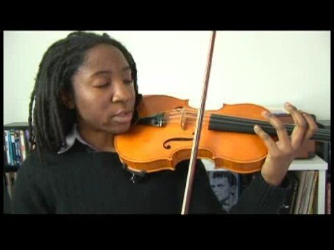 Violin Tuning : Violin E Harmonic