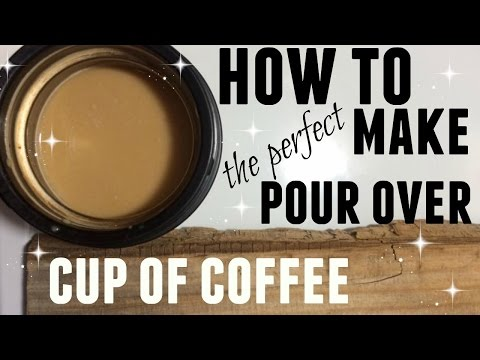 HOW TO MAKE POUR OVER COFFEE WITHOUT A COFFEE POT ● TUTORIAL ●  SINGLE SERVE ● LIFE HACK