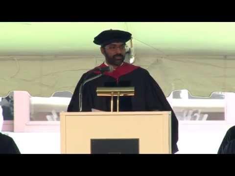 Ganesh Sitaraman's 2015 Vanderbilt Law School Commencement Address