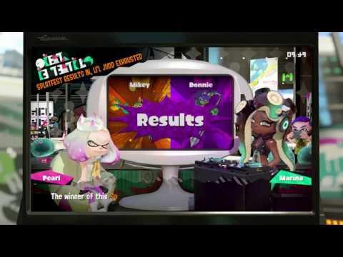 Splatoon 2 ~ Mikey VS Donnie Splatfest Results