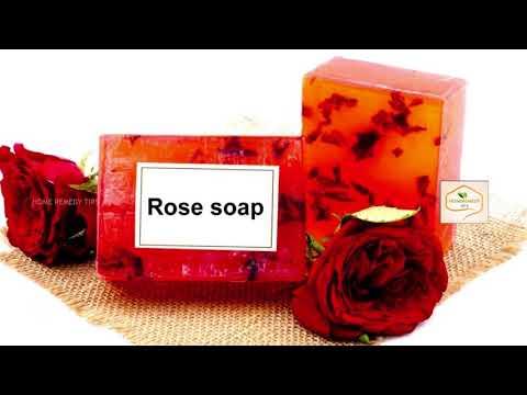 DIY Beauty Soap With Rose Petals