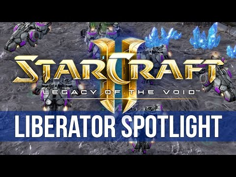 StarCraft 2: Legacy of the Void - Liberator Spotlight! (4K)