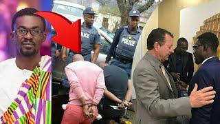 Breaking.. Interpol finally Gr@bs Nana Appiah in Dubai from his HideOut....