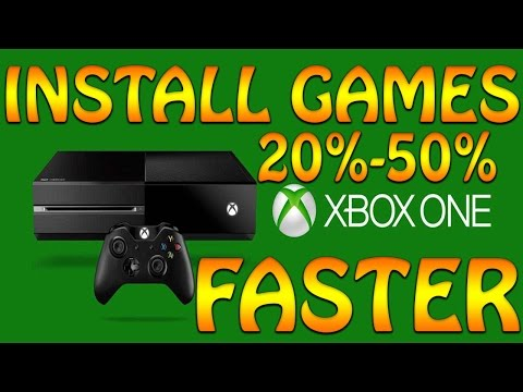 How to Install Xbox one game faster 2017, Xbox one game download faster, Xbox one download tutorial